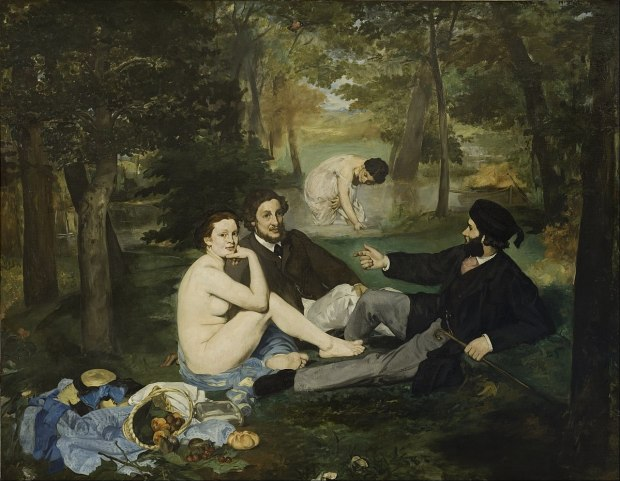 Le Dejeuner sur l'herbe- Luncheon on the Grass